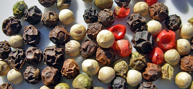 Caryophyllene peppercorns