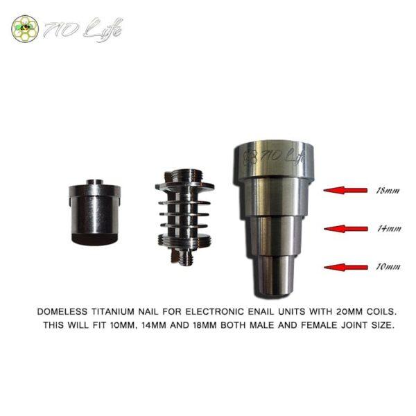 OG 710 Enail nail,OG 710 E nail nail, universal titanium nail, 420 life enail nail,420 life e nail nail
