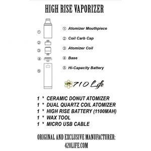 High Rise Vape Assembly