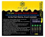 710 Life Battery Charger - Flower Power Charger - Best Battery Charger - Best Li Ion Charger - Fastest LI Ion Charger