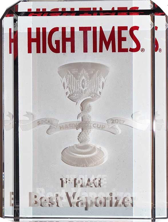 High Times Cannabis Cup Best Vaportizer 710Life AquaDabber