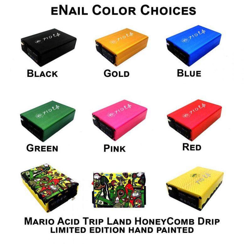 710 Life eNail color choices