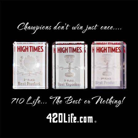 710 Life High Times Cannabis Cup Winner - Best enails, Best enail