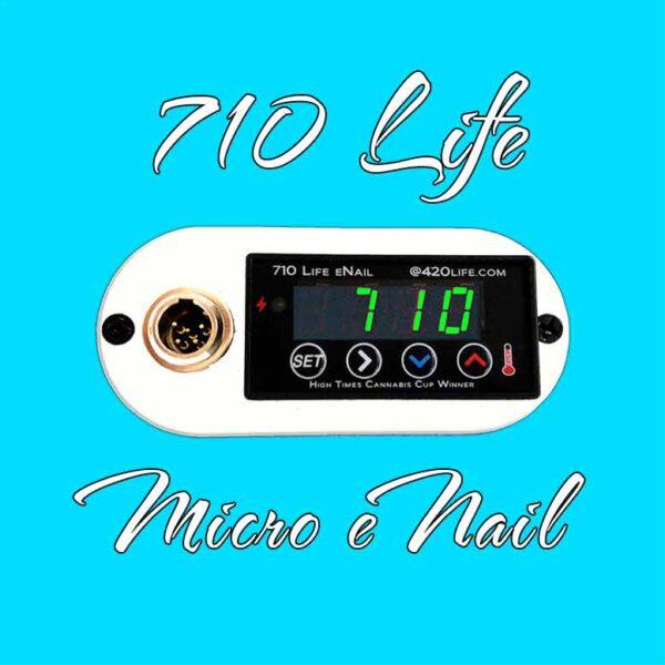 710 Life Micro Enail - Best enail for dabbing