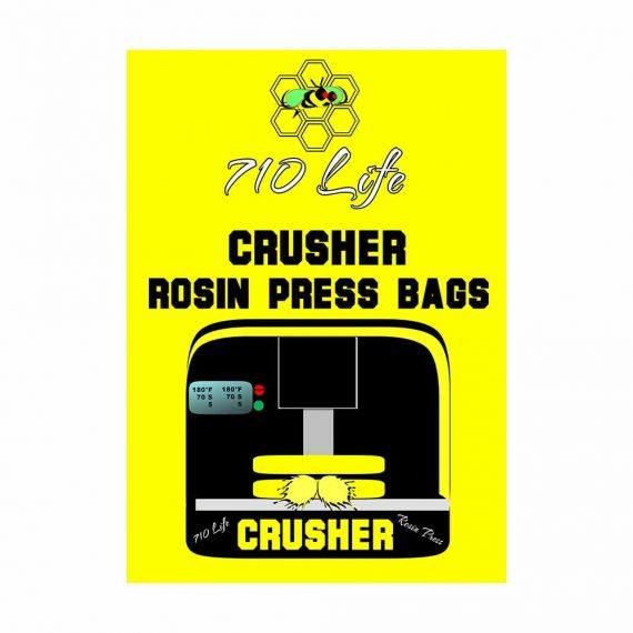 Crusher Rosin Press bags logo